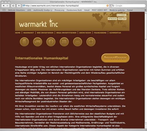 www.warmarkt.com, Online investment